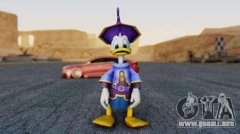 Kingdom Hearts 1 Donald Duck Disney Castle para GTA San Andreas segunda pantalla