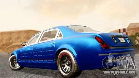 GTA 5 Enus Cognoscenti L Arm para GTA San Andreas left
