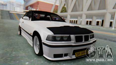 BMW 320i E36 MPower para GTA San Andreas