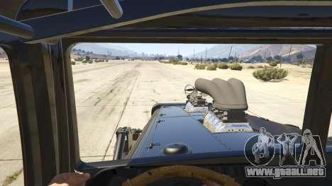 GTA 5 Mad Max The War Rig vista trasera