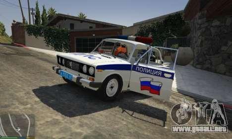 VAZ 2106 Policía para GTA 5