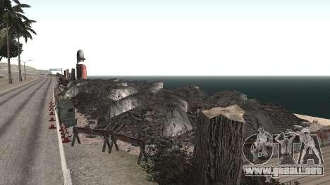Road repair Los Santos - Las Venturas para GTA San Andreas sucesivamente de pantalla