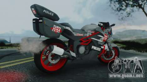 Bajidi R86 Police para GTA San Andreas left