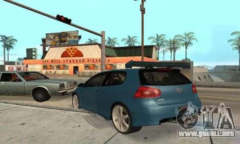 VW Golf R32 para la visión correcta GTA San Andreas