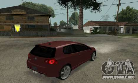 VW Golf R32 para GTA San Andreas left