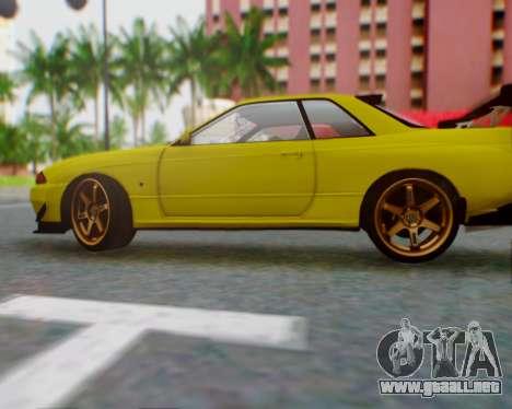 Nissan Skyline R32 GTR para GTA San Andreas left