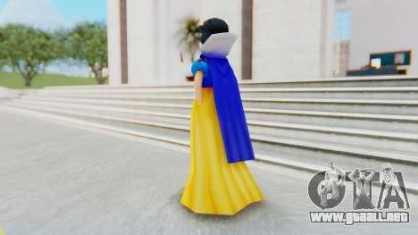Snow White para GTA San Andreas tercera pantalla