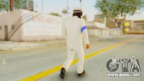 Michael Jackson - Smooth Criminal para GTA San Andreas tercera pantalla