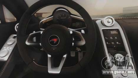 McLaren 650S Coupe Liberty Walk para visión interna GTA San Andreas