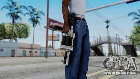 GTA 5 Grenade Launcher para GTA San Andreas tercera pantalla
