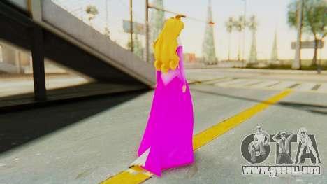 Sleep Beauty Aurora Pink para GTA San Andreas tercera pantalla