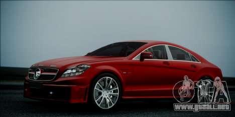 Mercedes-Benz CLS 63 BRABUS para GTA San Andreas
