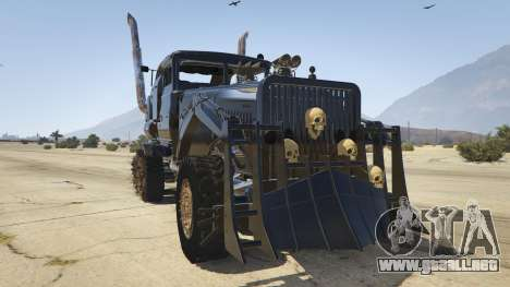 Mad Max The War Rig para GTA 5