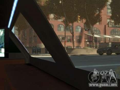 Taxi STRECH para GTA 4 vista hacia atrás