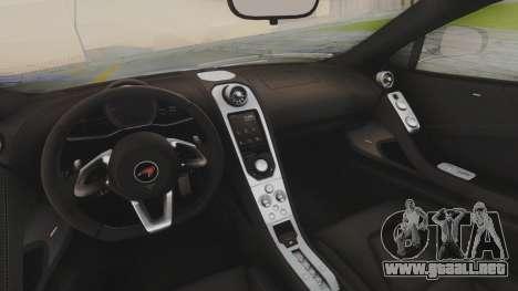 McLaren 650S Coupe Liberty Walk para vista lateral GTA San Andreas