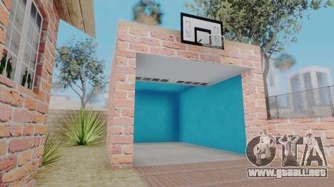 New Big Smoke House para GTA San Andreas sucesivamente de pantalla