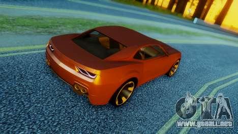 Chevrolet Camaro DOSH Tuning v2 para GTA San Andreas left
