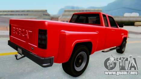 GTA 5 Vapid Bobcat XL para GTA San Andreas left