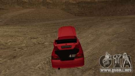 Mitsubishi Galant VR-4 (2JZ-GTE) para la visión correcta GTA San Andreas