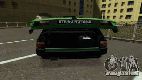 Volkswagen Passat B3 Variant para la visión correcta GTA San Andreas