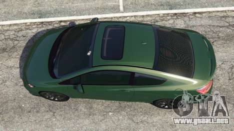 GTA 5 Honda Civic SI v1.0 vista trasera