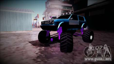 Club Monster Truck para visión interna GTA San Andreas