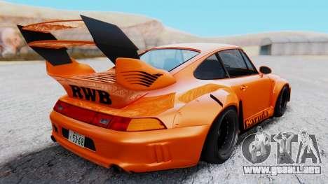 Porsche 993 GT2 RWB GARUDA para la visión correcta GTA San Andreas