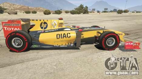 GTA 5 Renault F1 vista lateral izquierda