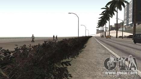 Road repair Los Santos - Las Venturas para GTA San Andreas