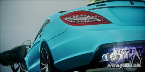 Mercedes-Benz CLS 63 BRABUS para visión interna GTA San Andreas