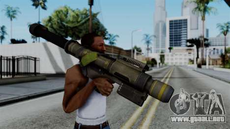CoD Black Ops 2 - FHJ-18 para GTA San Andreas tercera pantalla