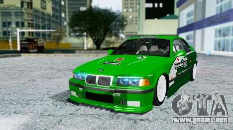 BMW M3 Coupe E36 (320i) 1997 para GTA San Andreas interior
