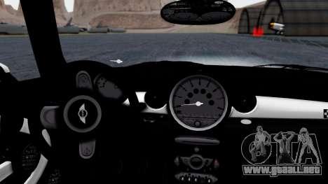 Mini John Cooper Works Mr.Bean para la visión correcta GTA San Andreas