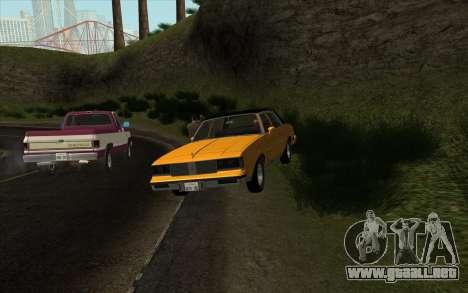 Situación de la vida 4.0 para GTA San Andreas segunda pantalla