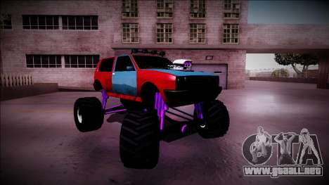 Club Monster Truck para la vista superior GTA San Andreas
