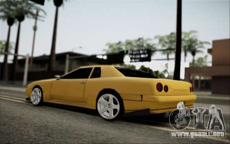 Elegy Speedhunters para GTA San Andreas vista hacia atrás