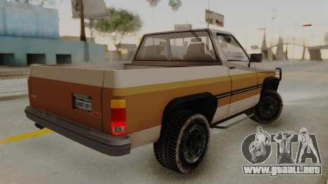 GTA 4 Declasse Rancher IVF para GTA San Andreas left