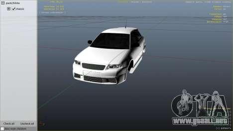Audi A3 1999 Sport Edition para GTA 5