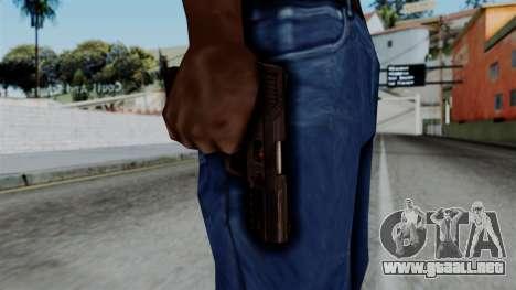 CoD Black Ops 2 - TAC-45 para GTA San Andreas tercera pantalla