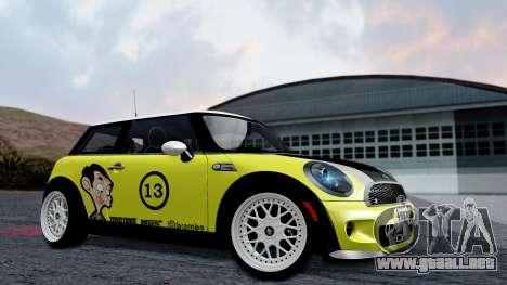 Mini John Cooper Works Mr.Bean para GTA San Andreas