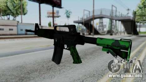 M16 A2 Carbine M727 v4 para GTA San Andreas segunda pantalla
