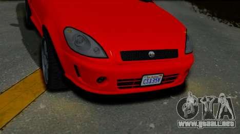 GTA 5 Declasse Premier Coupe IVF para la visión correcta GTA San Andreas