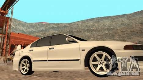 Mitsubishi Galant VR-4 (2JZ-GTE) para GTA San Andreas vista hacia atrás