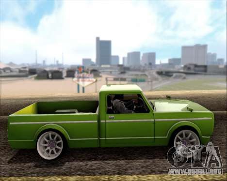 Sadler Debbie para GTA San Andreas left