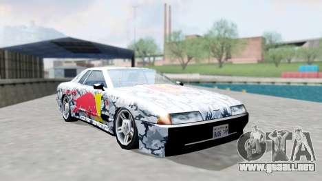 Elegy 4 Drift Drivers V2.0 para GTA San Andreas vista hacia atrás