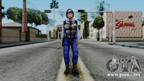Barney Calhoun from Half Life Blue Shift para GTA San Andreas segunda pantalla