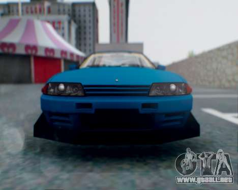 Nissan Skyline R32 GTR para las ruedas de GTA San Andreas