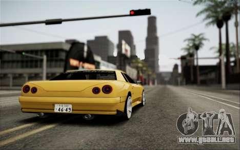 Elegy Speedhunters para visión interna GTA San Andreas