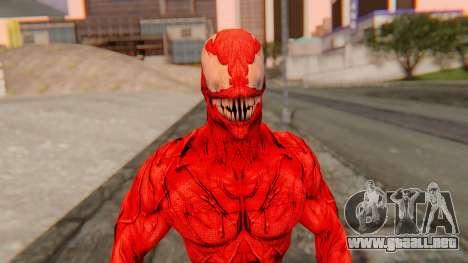 Marvel Heroes - Carnage para GTA San Andreas