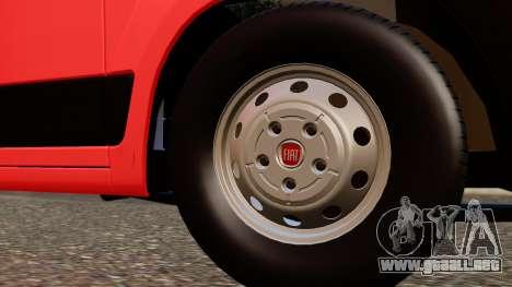 Fiat Ducato SMURD para la visión correcta GTA San Andreas